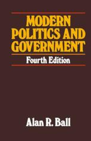 Modern Politics and Government