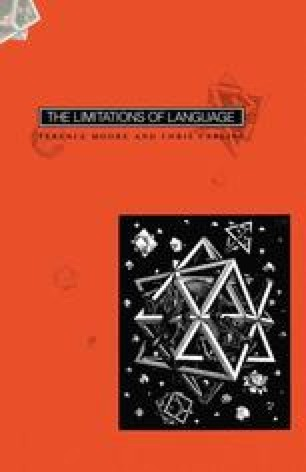 The Limitations of Language
