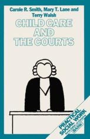 Child Care and the Courts