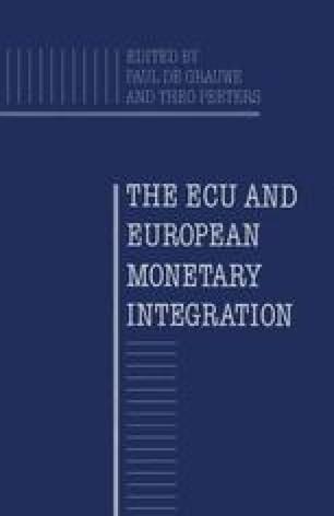 The ECU and European Monetary Integration