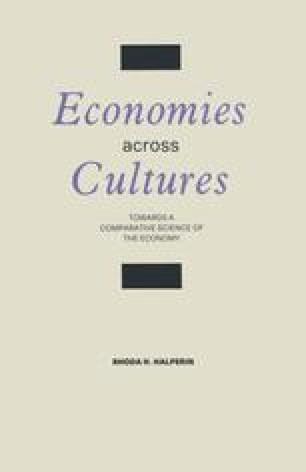 Economies across Cultures