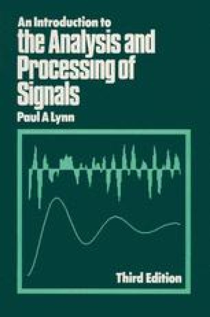 An Introduction to the Analysis and Processing of Signals