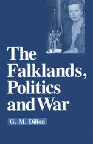 The Falklands, Politics and War