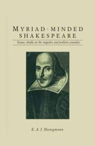 Myriad-minded Shakespeare