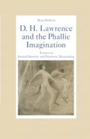 D. H. Lawrence and the Phallic Imagination