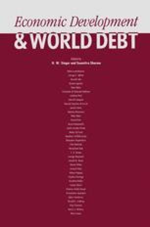Economic Development and World Debt