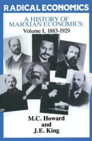 A History of Marxian Economics