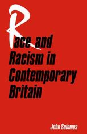 Race and Racism in Contemporary Britain