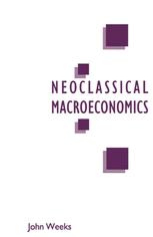 A Critique of Neoclassical Macroeconomics