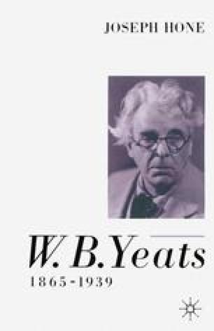 W. B. Yeats, 1865–1939