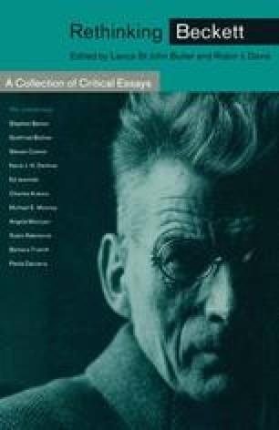 Rethinking Beckett