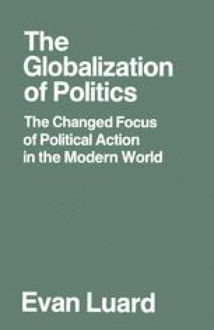 The Globalization of Politics