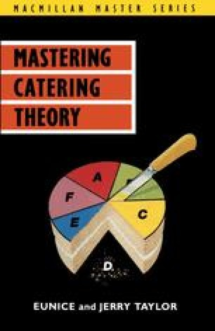 Mastering Catering Theory
