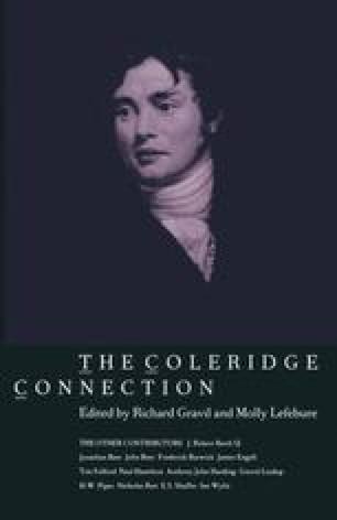The Coleridge Connection