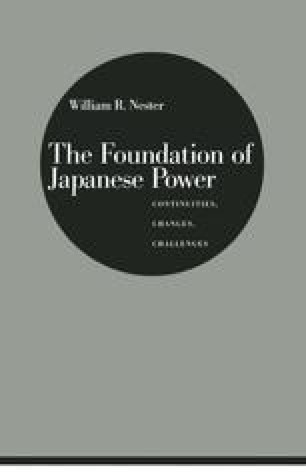 The Foundation of Japanese Power