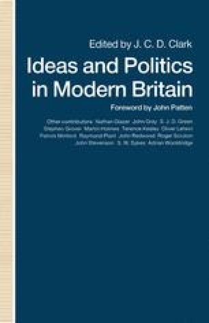 Ideas and Politics in Modern Britain