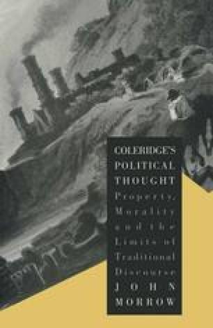 Coleridge's Political Thought