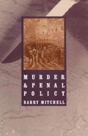 Murder and Penal Policy