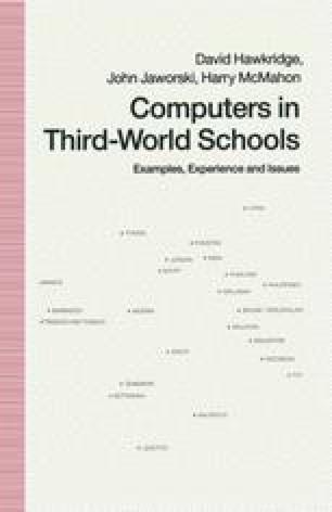 Computers in Third-World Schools