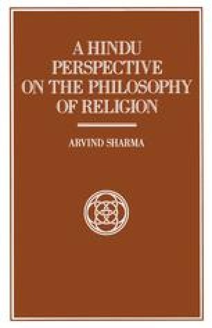 A Hindu Perspective on the Philosophy of Religion