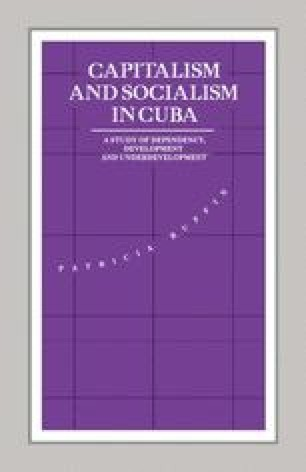 Capitalism and Socialism in Cuba