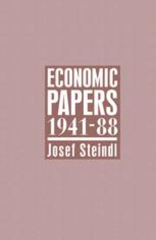 Economic Papers 1941–88