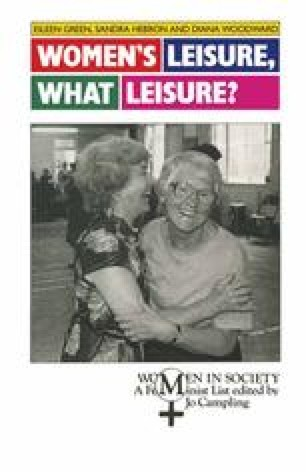 Women's Leisure, What Leisure?