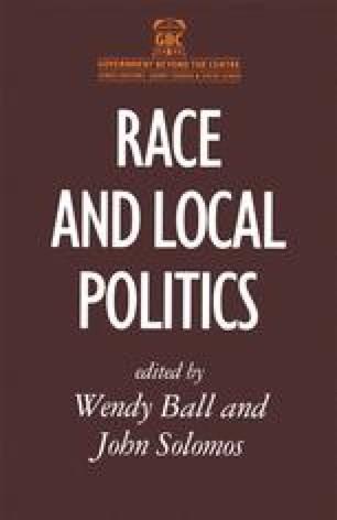Race and Local Politics