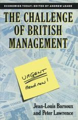 The Challenge of British Management