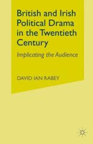 British and Irish Political Drama in the Twentieth Century