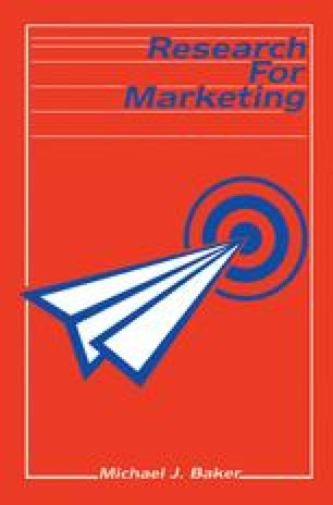 Research for Marketing