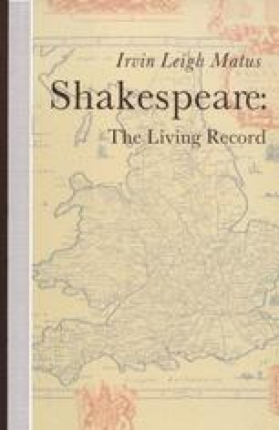 Shakespeare: The Living Record