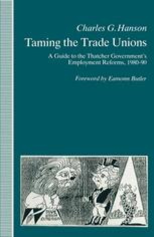 Taming the Trade Unions