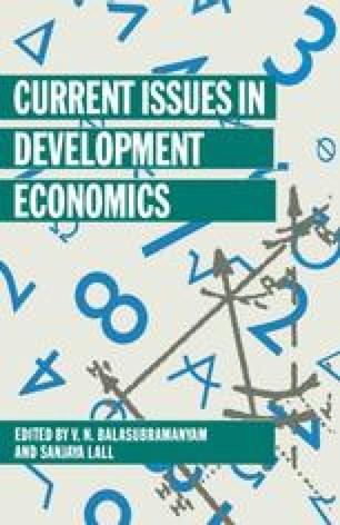 Current Issues in Development Economics