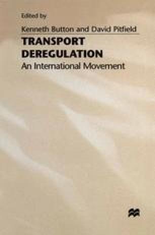Transport Deregulation