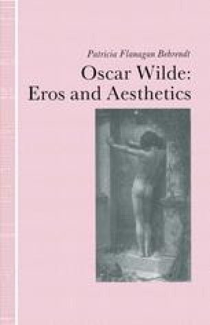 Oscar Wilde Eros and Aesthetics