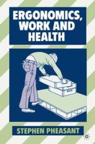 Ergonomics, Work and Health