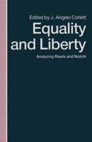 Equality and Liberty