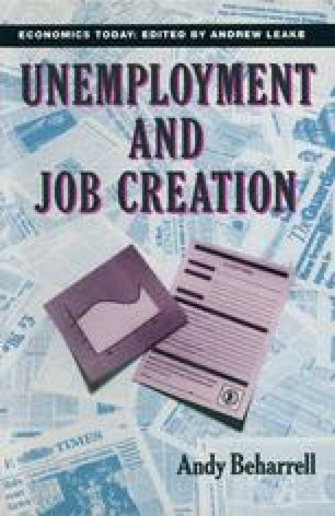 Unemployment and Job Creation