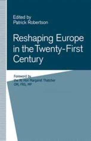 Reshaping Europe in the Twenty-First Century