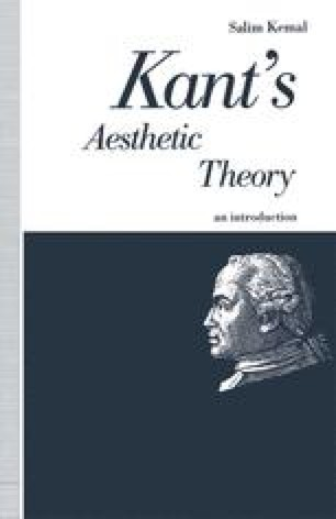 Kant's Aesthetic Theory