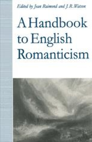 A Handbook to English Romanticism