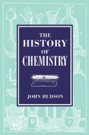 The History of Chemistry