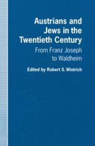 Austrians and Jews in the Twentieth Century