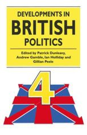 Developments in British Politics 4