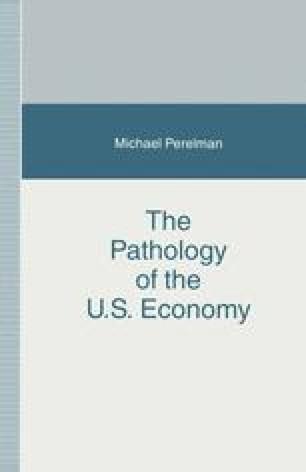 The Pathology of the U.S. Economy