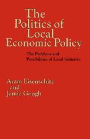 The Politics of Local Economic Policy