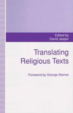Translating Religious Texts