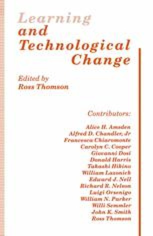 Learning and Technological Change