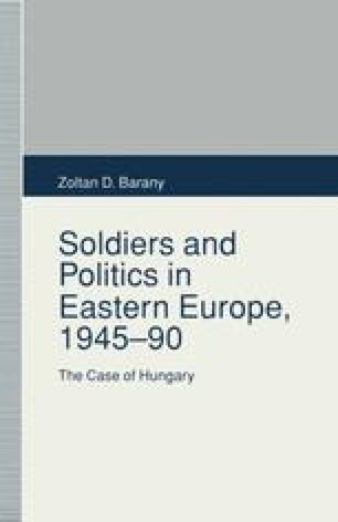 Soldiers and Politics in Eastern Europe, 1945–90
